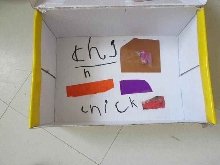 A home for our pretend chicks