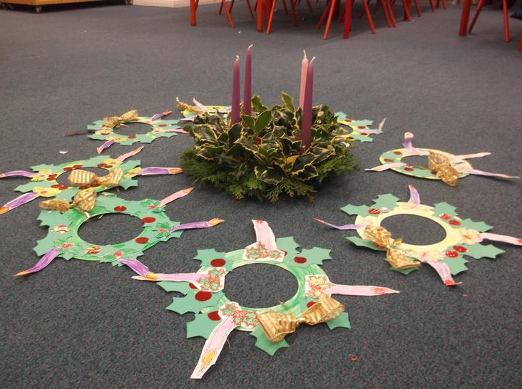 Our Advent Wreaths