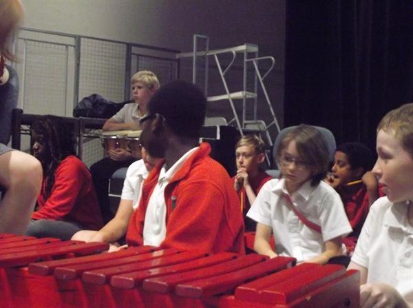 Jazz workshop at The Castle Theatre