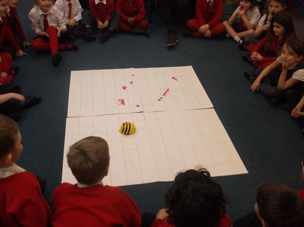 The BeeBot visits Struay!