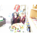 Healthy eating demonstration at open evening