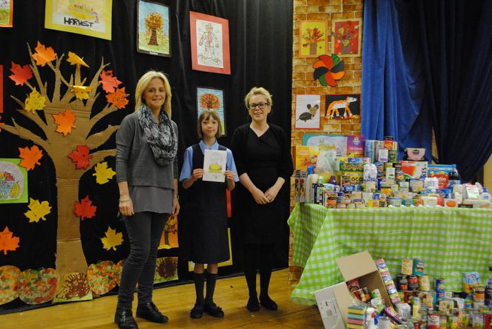 Mrs Smyth, Casey and Mary Allen of Storehouse