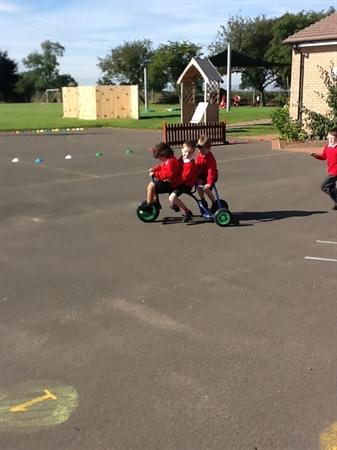 We have had a great first two days back at school!