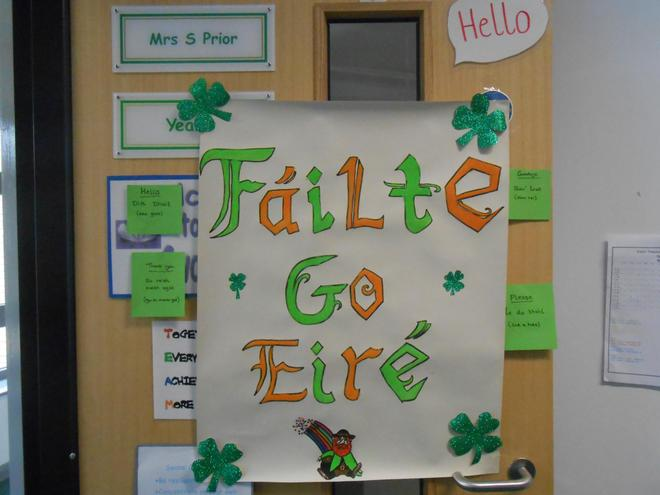 Learning about Ireland
