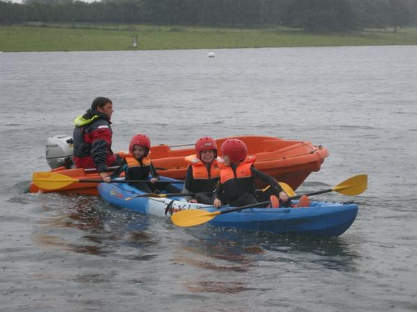 Kayaking adventures with Y3