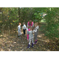 Children enjoying outdoor learning