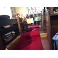 Inside St Tysilio Church, Bryneglwys