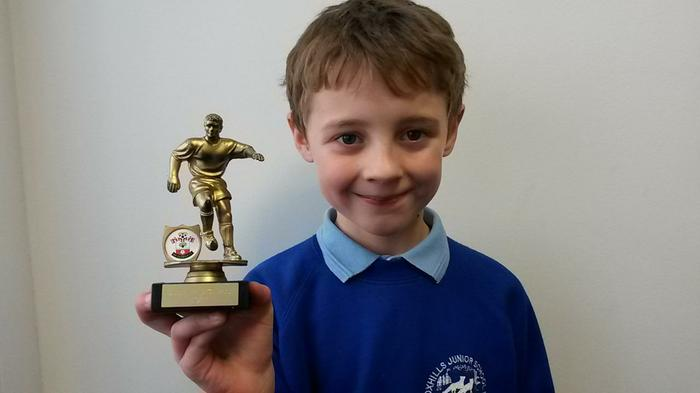 Harry - Saints Academy Player of the Week!