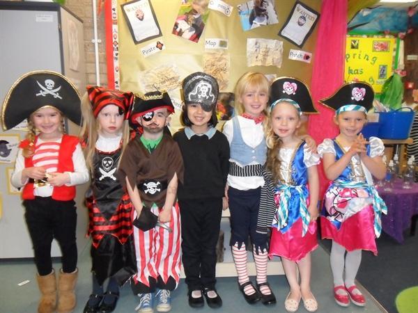 Pirate day fun