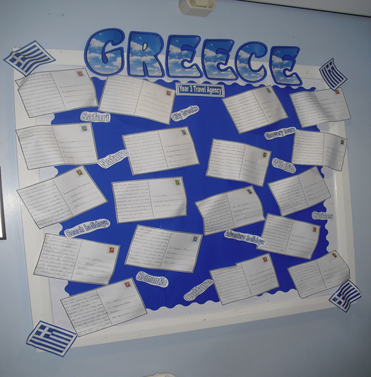Year 3 - Greece