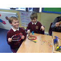 In Miss Jepson's room we made dreamcatchers......