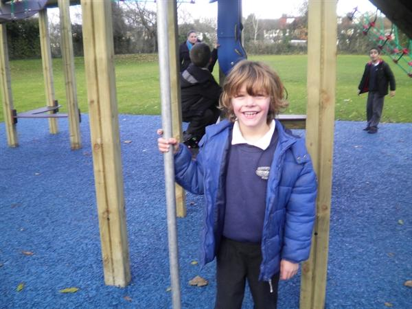 We love the new play equipment!