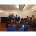 Year 6 Trip to The Globe Theatre, London