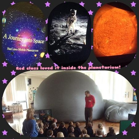 We had so much fun learning facts about space!