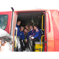How many children can you get in a fire engine?