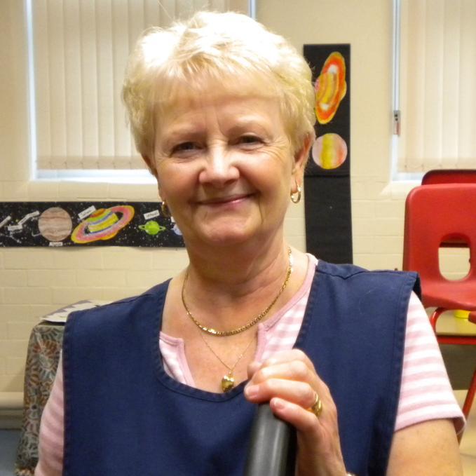 Mrs Foley - School Cleaner