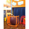 Year 3 compare volume between a sphere and a cube