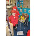 Class 2 pirate role play area - Arr!