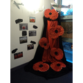 Thanks Year 6 for making the giant poppies.