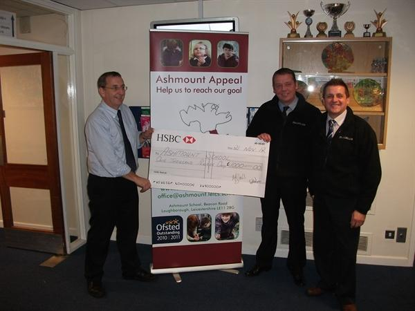 Gary and Matt of Motorline present £1000