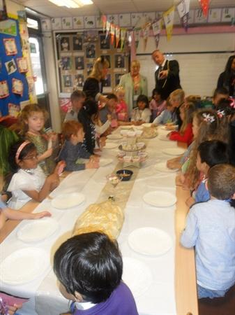 Mayor's visit-banquet