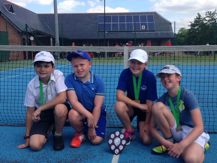 Y6 Tennis WINNERS! (Alastair,Max,Lorissa,Jacob)