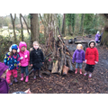 We had to build shelters for the animals.