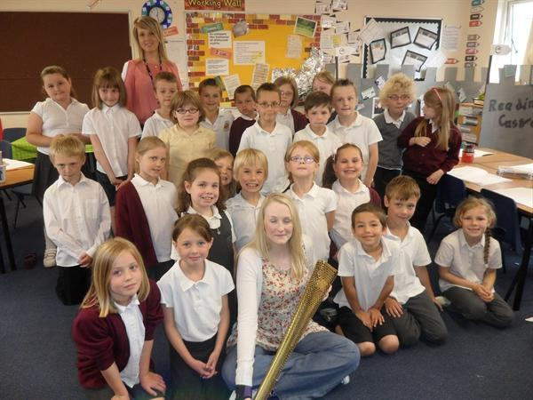 Miss Shaw's class with Lucy Davies