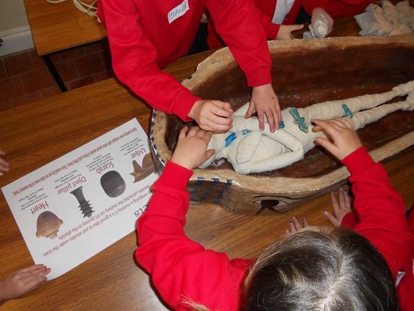 We really enjoyed the Egyptian workshop!