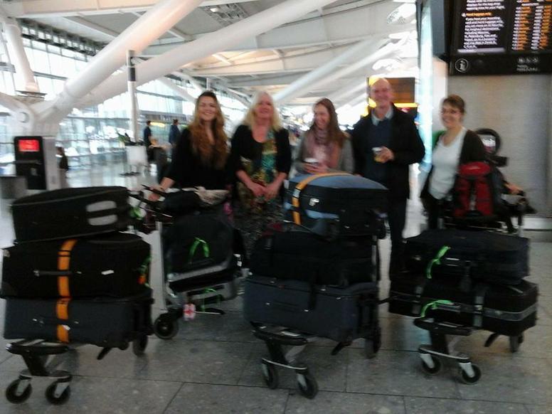 At Heathrow