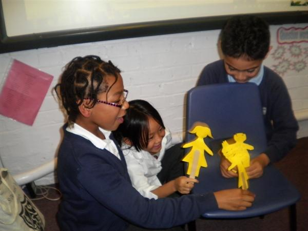 Linking our shadow puppets and settings topics!