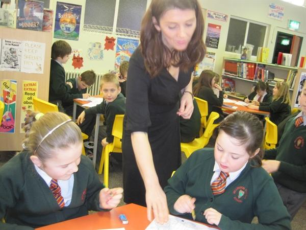 Helen, from Young enterprise works with Y6L.