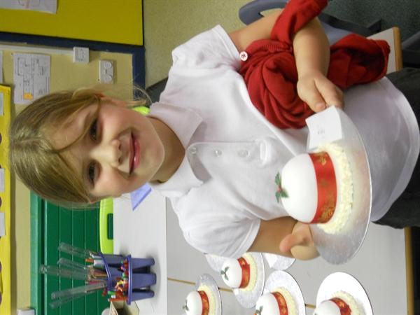 Our Christmas cakes - they look amazing!