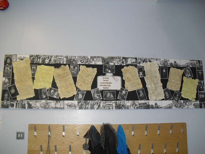 Year 5 - WW2 Evaucuee letters