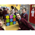 Organising the cubes into multiples of three