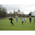 Year 3 PE session with Mr Ben Gummer MP