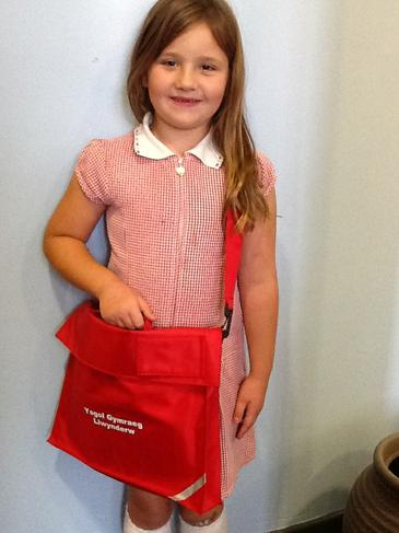 Bag Llyfrau Ysgol £6 / School Book Bag £6