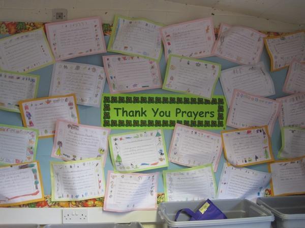 Thank You Prayers (Autumn 2011)