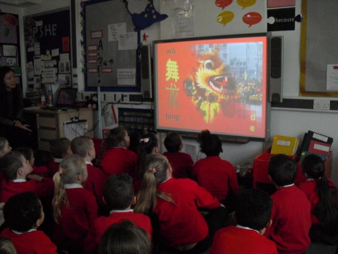 Our visitors taught us all about Chinese New Year