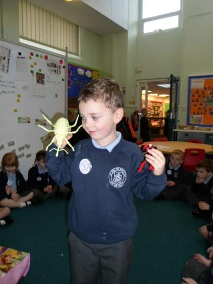 Wonder Cats and his creature visited Reception