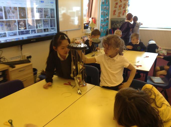 making wind chimes