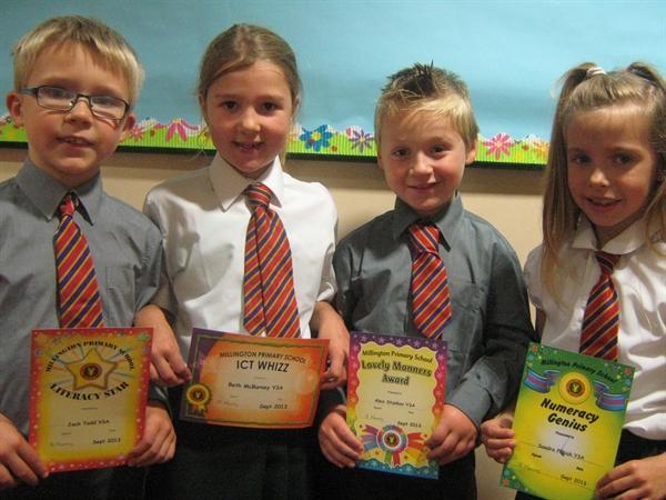 September - Prize Winners