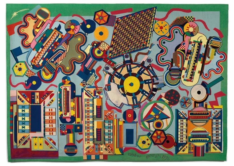 Paolozzi inspired by machines