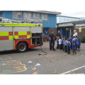 The Firemen came to see class 2&5