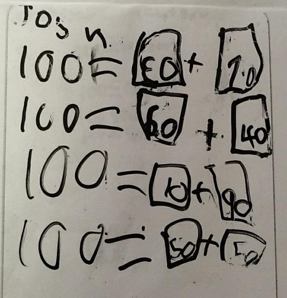 Multiples of 10 pairs to 100