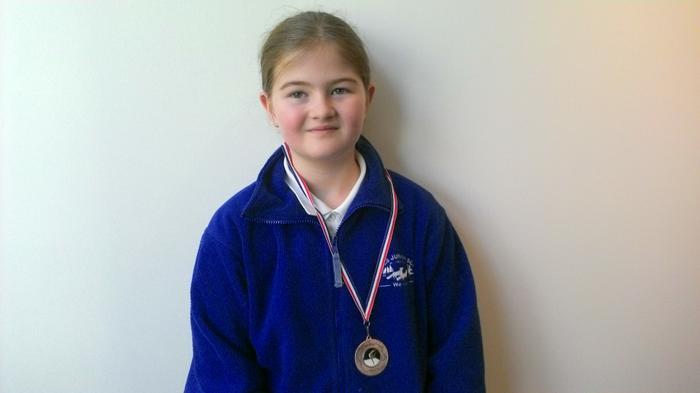Elise - Gymnastics medal