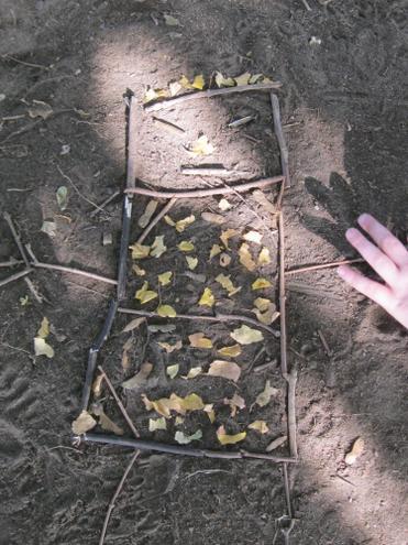 Using natural materials.
