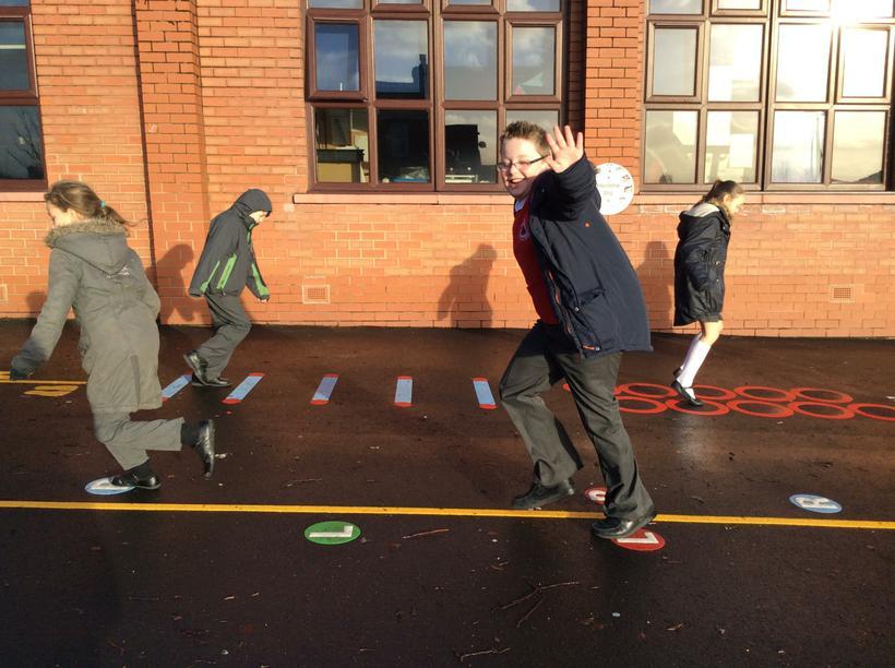 Upper Junior Playground - Classes 9 and 10.