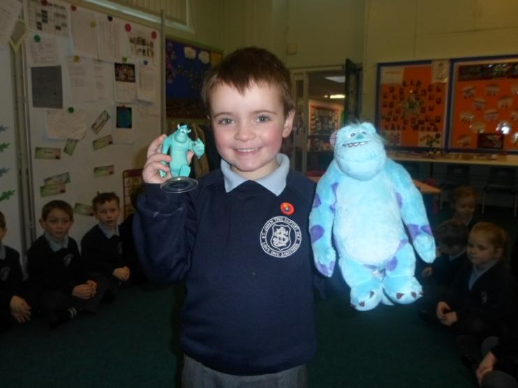 Two Sulley's came into Reception!