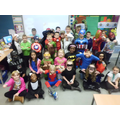 Superhero Day - raising lots of money for charity!